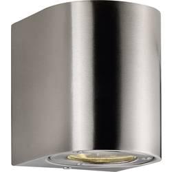 Vanjska zidna LED svjetiljka Canto Nordlux 6 W toplo bijela 77571034 plemeniti čelik