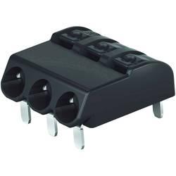 Vzmetni priključni blok 0.75 mm število polov: 3 2060-1423/998-404 WAGO črne barve 1 kos