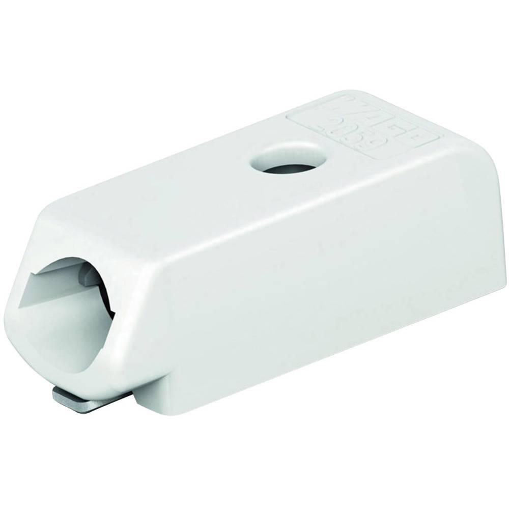 Vzmetni priključni blok število polov: 1 2059-301/998-403 WAGO bele barve 1 kos