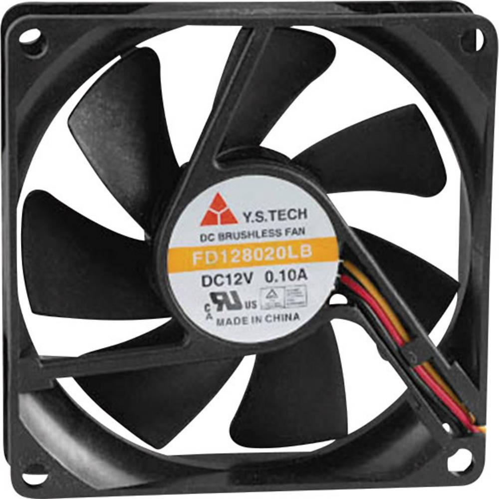 Aksialni ventilator 12 V/DC 42.48 m/h (D x Š x V) 80 x 80 x 20 mm FD128020LB(2F3)