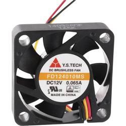 Aksialni ventilator 12 V/DC 9 m/h (D x Š x V) 40 x 40 x 10 mm FD124010MS(1A5K)