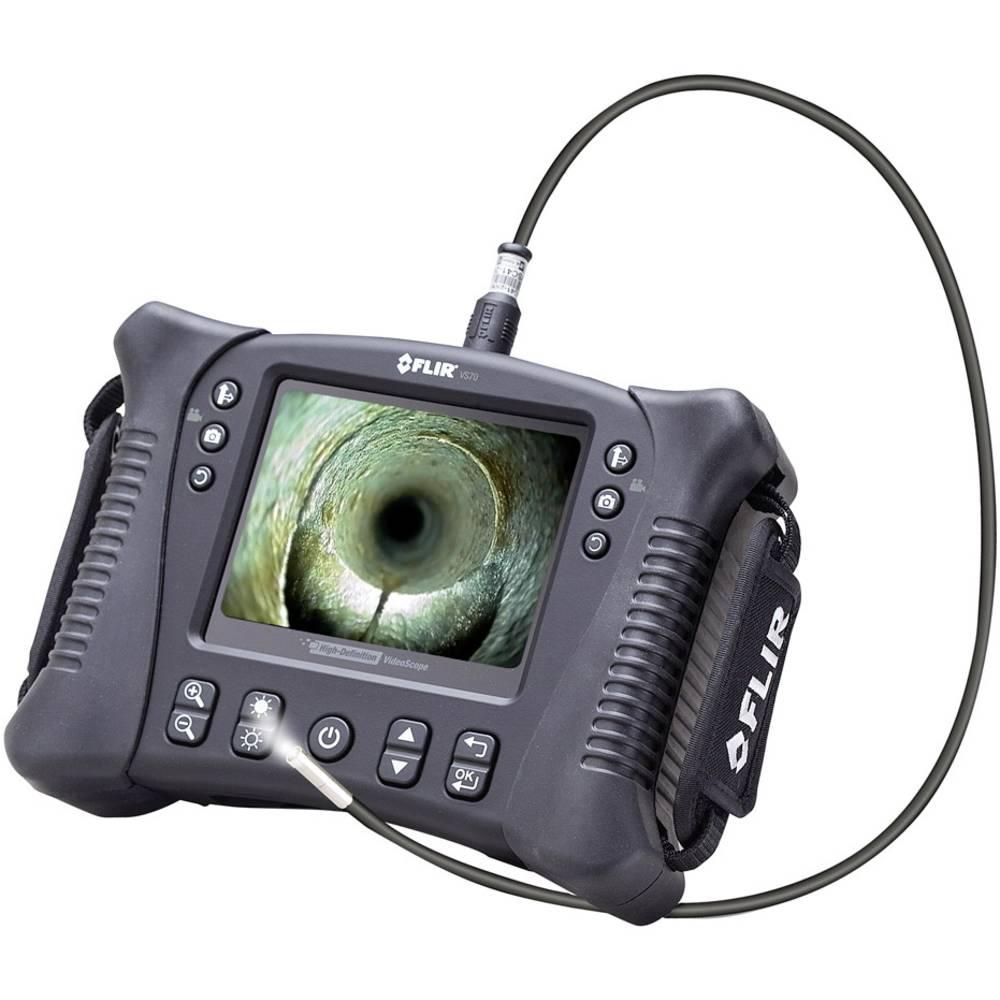 Endoskop FLIR VS70-1 premer sonde: 8 mm dolžina sonde: 100 cm rotacija slik, fokus odporen na bencin in olje, visoka resolucija