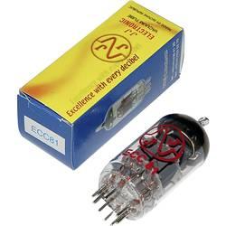 Elektronska cijev ECC 81 = 12AT 7 polovi: 9 Sockel Noval, opis: HF-Doppeltriode