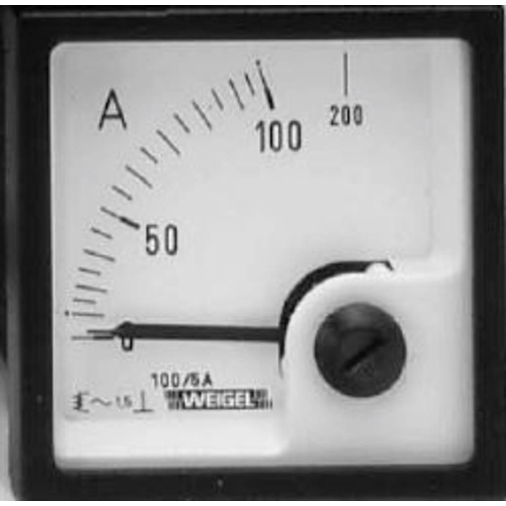 Weigel EQ72K 250/5A Ugradbeniinstrumenti za razvodne pločes mjernim sklopovima s pomični 6.741.202.332