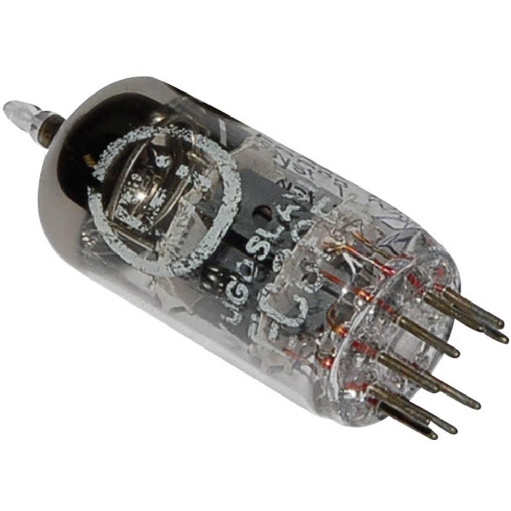 Elektronska cijev ECC 85 = 6 AQ 8 polovi: 9 Sockel Noval, opis: HF-Doppeltriode