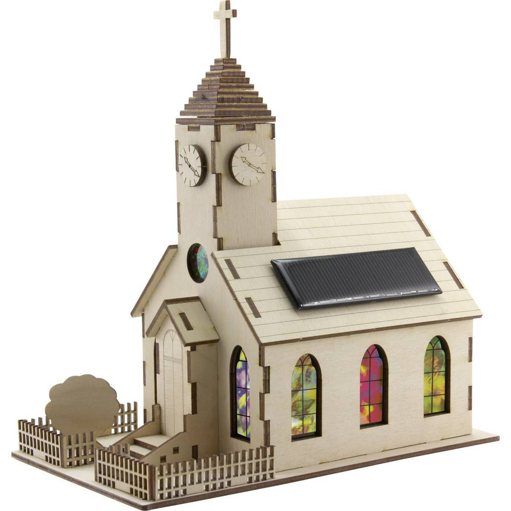 Sol Expert solarna cerkev Harmony, komplet za sestavljanje