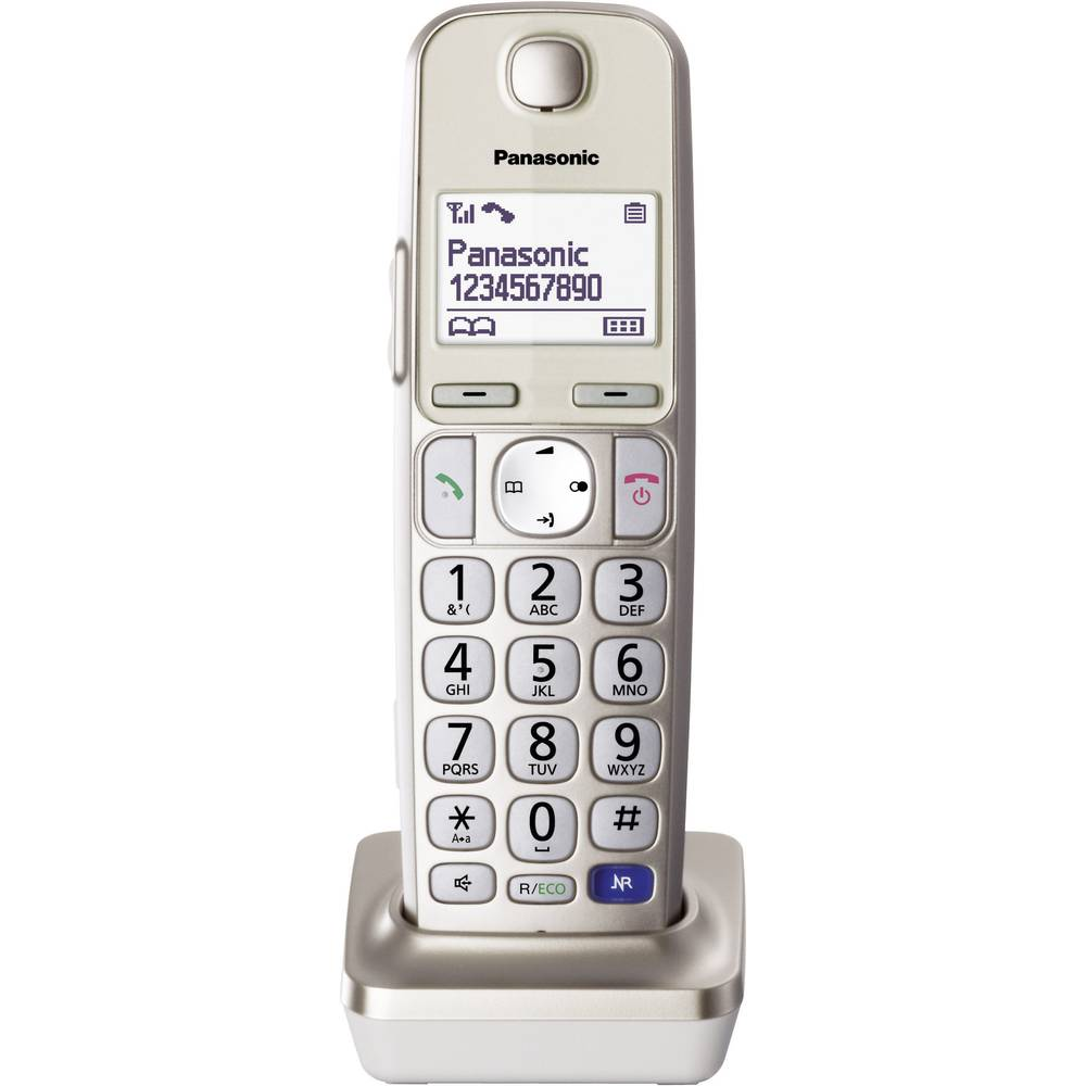 DECT telefonska slušalka Panasonic KX-TGEA20 šampanjec barve