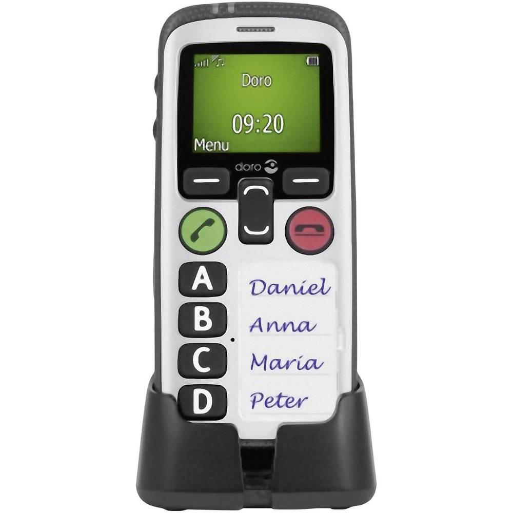 Mobitel s velikim tipkama za starije osobe Secure 580 Doro crna/bijela