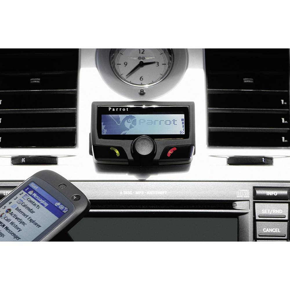 Bluetooth vgradna naprava za prostoročno telefoniranje Parrot CK3100 LCD, LCD-zaslon