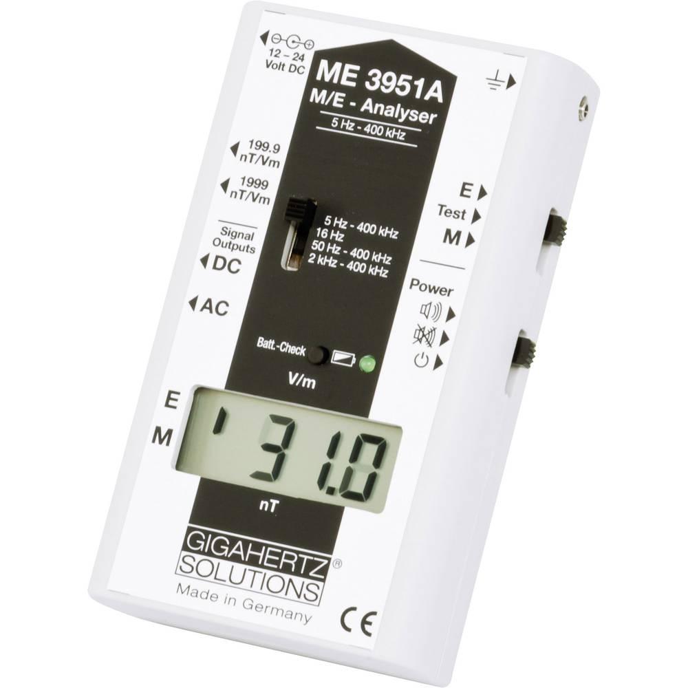 Gigahertz ME 3951 A Nizka frekvenca (NF)-analizator, merilnik elektrosmoga 5 Hz - 400 kHz/ Gigahertz Solutions