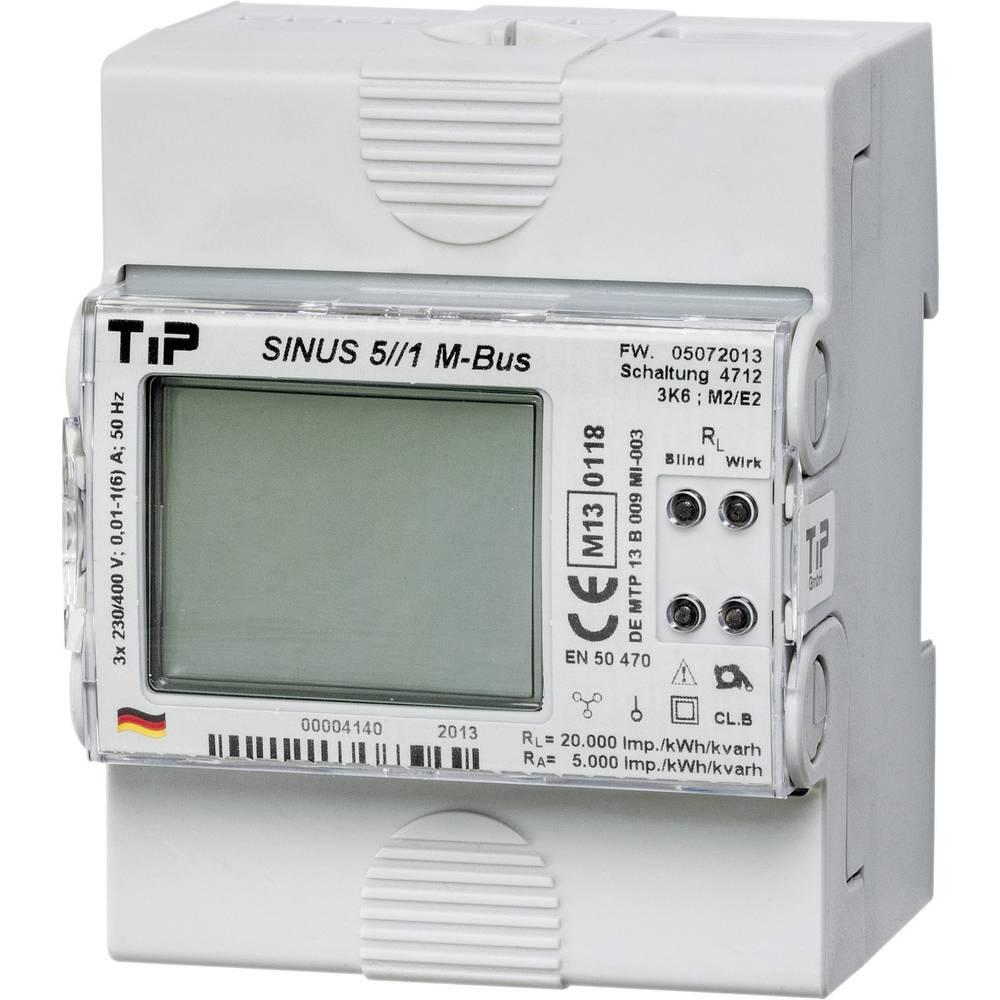 Trifazni digitalni števec s tranformatorskim priključkom MID odobritev: Da TIP SINUS 85 M-BUS