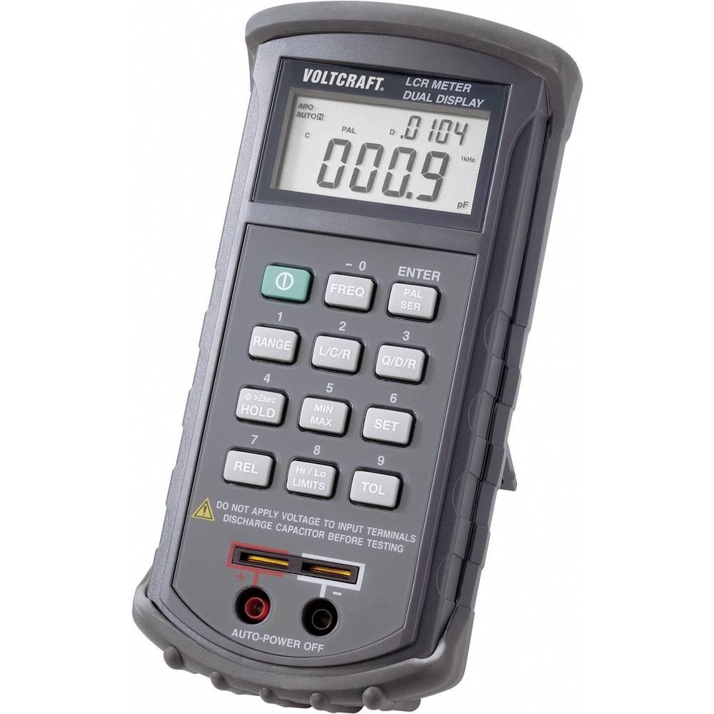 Tester komponent, digitalni VOLTCRAFT LCR 4080 kalibracija narejena po: delovnih standardih, CAT I število znakov na zaslonu: 20