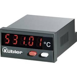 Kübler CODIX 531 Prikaz temperature CODIX 531 - 19999 do + 99999 °C Mjere za ugradnju 45 x 22 mm Kalibriran po (iso)