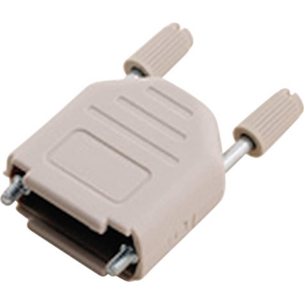 D-SUB ohišje, število polov: 37 iz umetne mase 180 ° svetlosive barve MH Connectors MHDPPK37-LG-K 1 kos