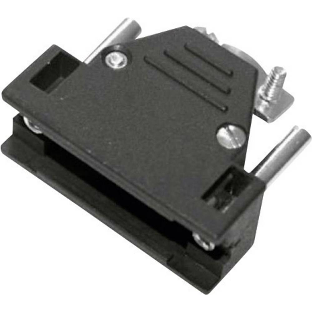 D-SUB ohišje, število polov: 15 iz umetne mase 180 ° črne barve MH Connectors 2801-0102-12-8 1 kos