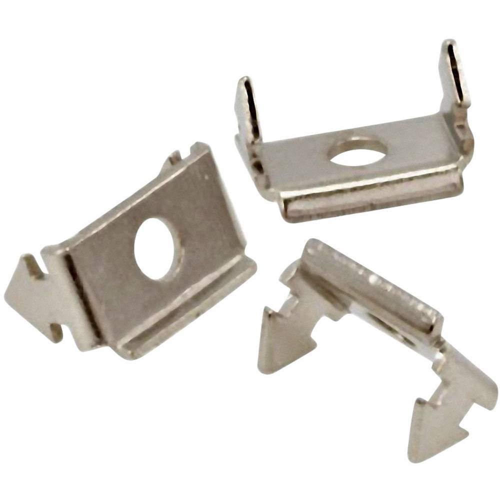 Zaklepni zapah MH Connectors 2802-0001-04 srebrne barve 1 kos