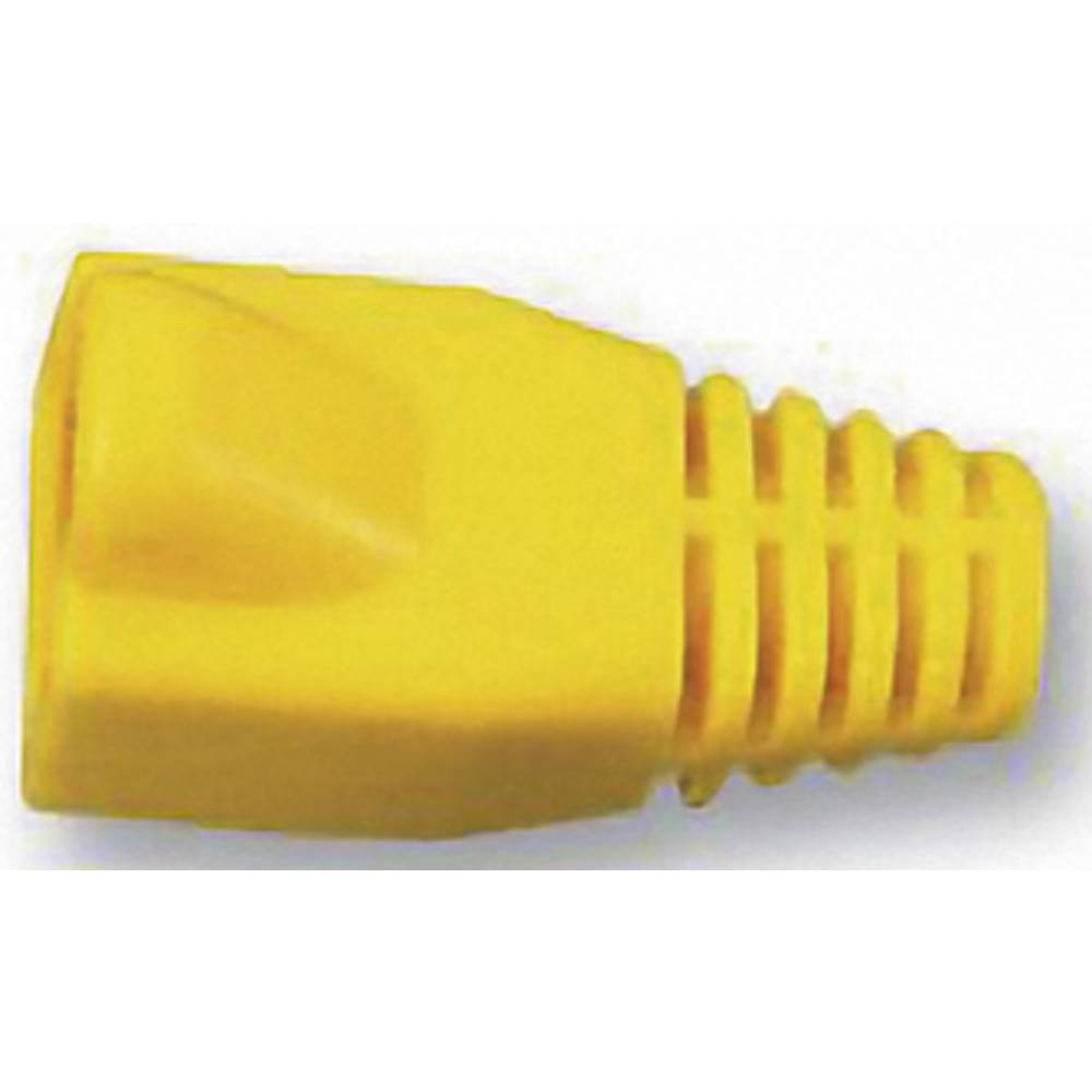 RJ45-ustnik za zaščito pred ukrivljanjem MHRJ45SRB-Y rumene barve MH Connectors 6510-0100-04 1 kos