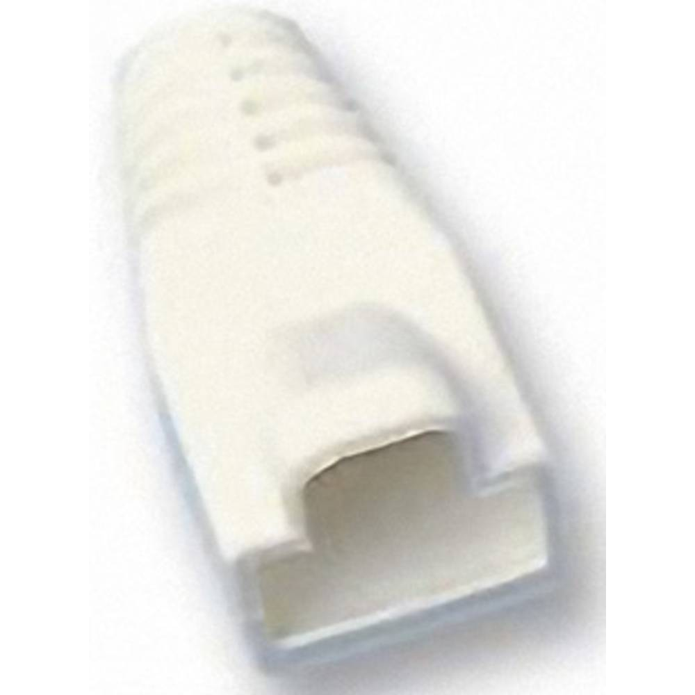 RJ45-ustnik za zaščito pred ukrivljanjem MHRJ45SRB-W bele barve MH Connectors 6510-0100-08 1 kos
