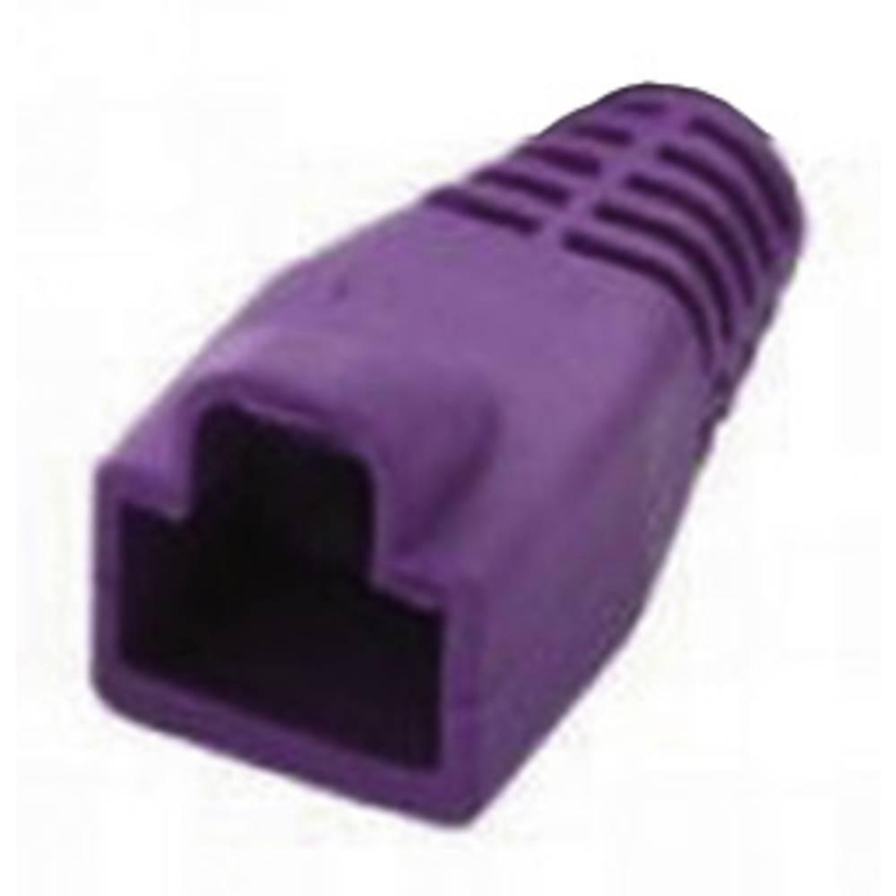 RJ45-ustnik za zaščito pred ukrivljanjem MHRJ45SRB-PK Pink MH Connectors 6510-0100-11 1 kos