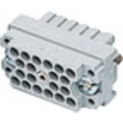 Stiftindsats EDAC Serie (Stik EDAC) 516 516-020-000-302 Samlet poltal 20 1 stk