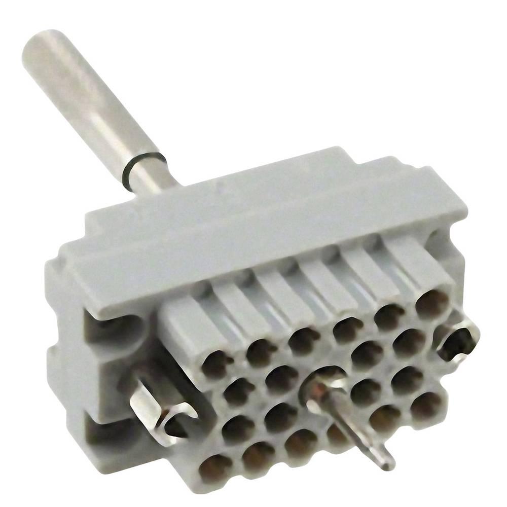 Tilslutningsindsats EDAC Serie (Stik EDAC) 516 (value.1361191) 516-020-000-402 Samlet poltal 20 1 stk