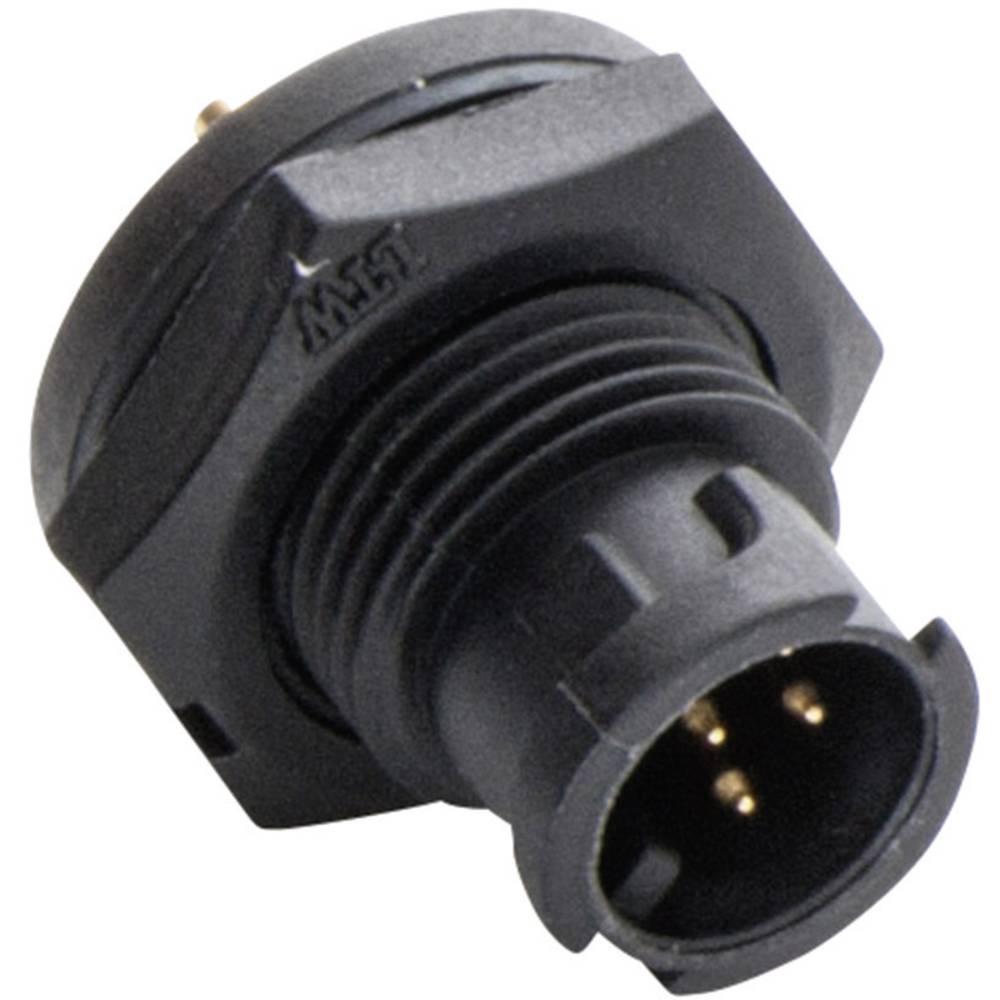 Miniaturni-okrogli vtični konektor, poli: 4 2650-0001-03 Amphenol LTW 1 kos