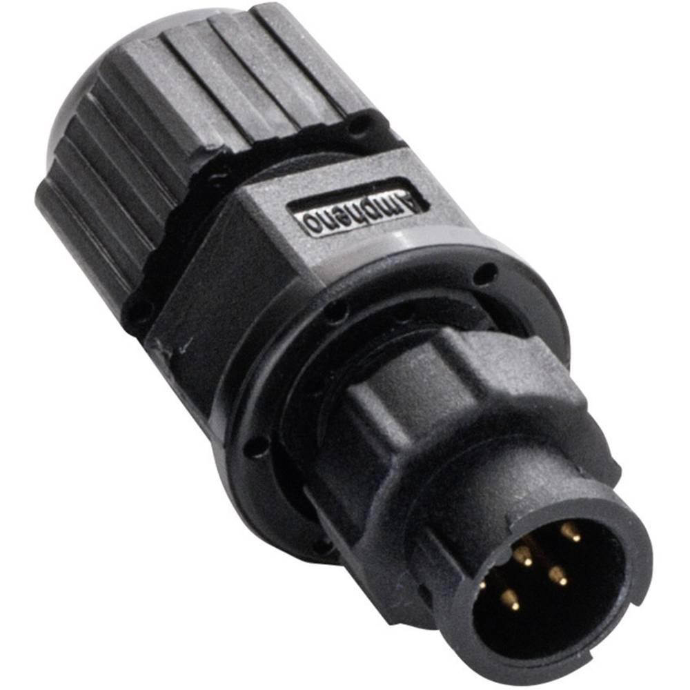 Miniaturni-okrogli vtični konektor, poli: 5 2650-0001-15 Amphenol LTW 1 kos