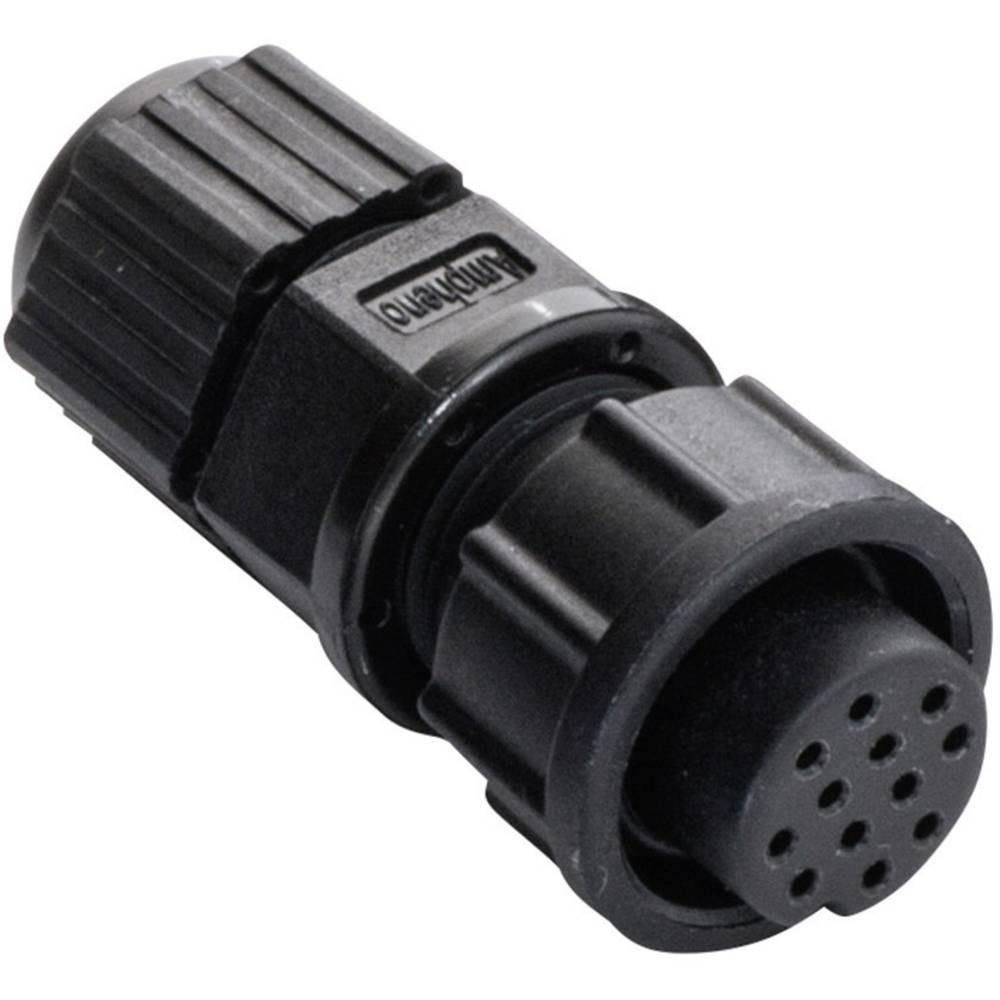 IP67-vtični konektor, poli: 10 2 A 2660-0161-01 Amphenol LTW 1 kos