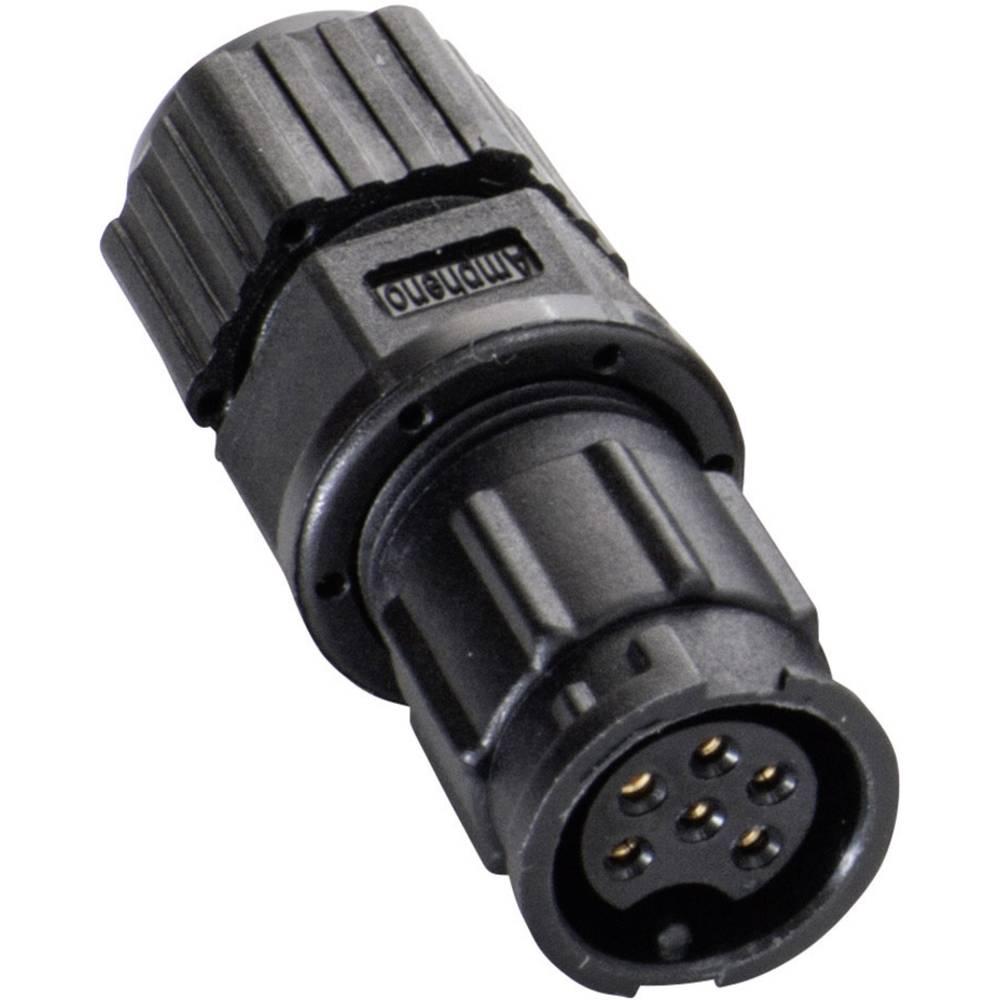 IP67-vtični konektor, poli: 3 z vtičnimi kontakti 5 A 2660-0062-01 Amphenol LTW 1 kos