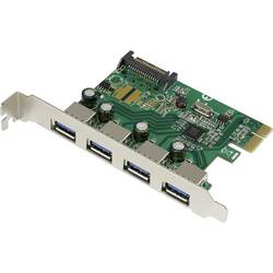 PCI-Express kontrolna-kartica Renkorce 4 vhodni USB 3.0