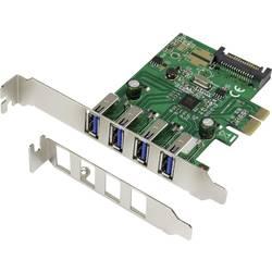 Renkfoce 4 vhodna 3.0 PCI-Express-kartica z VLI-čipom