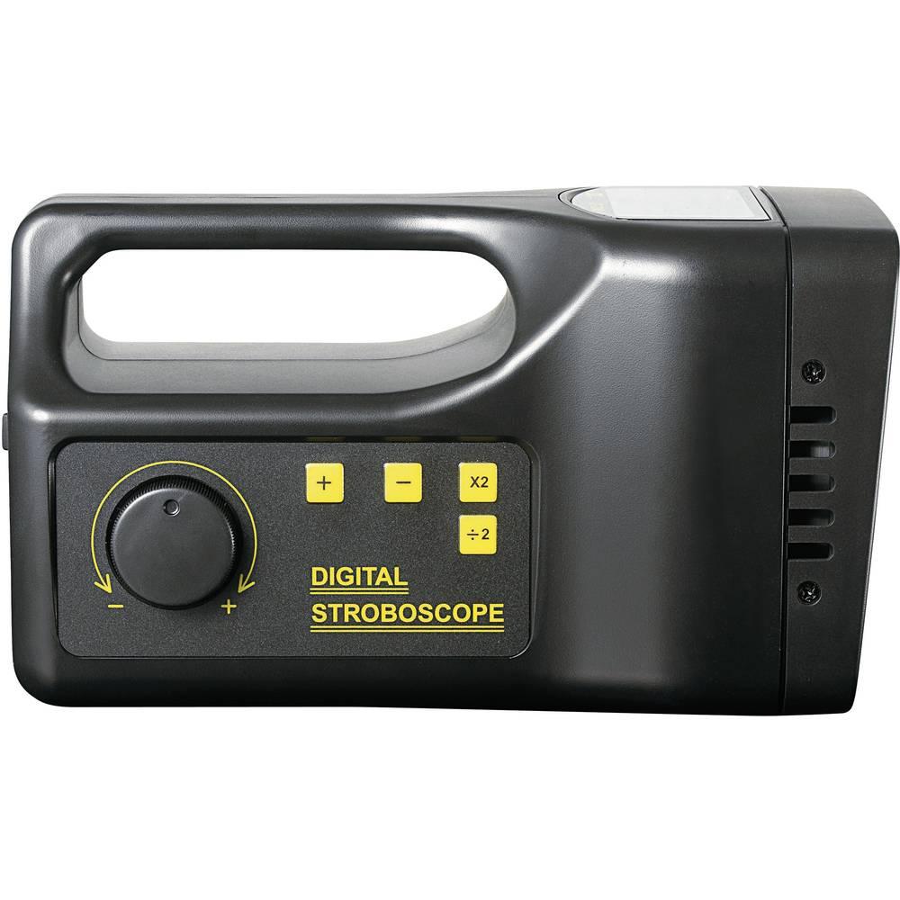 VOLTCRAFT® DS-02 digitalni stroboskop za vizualizaciju pokreta kalibriran prema ISO