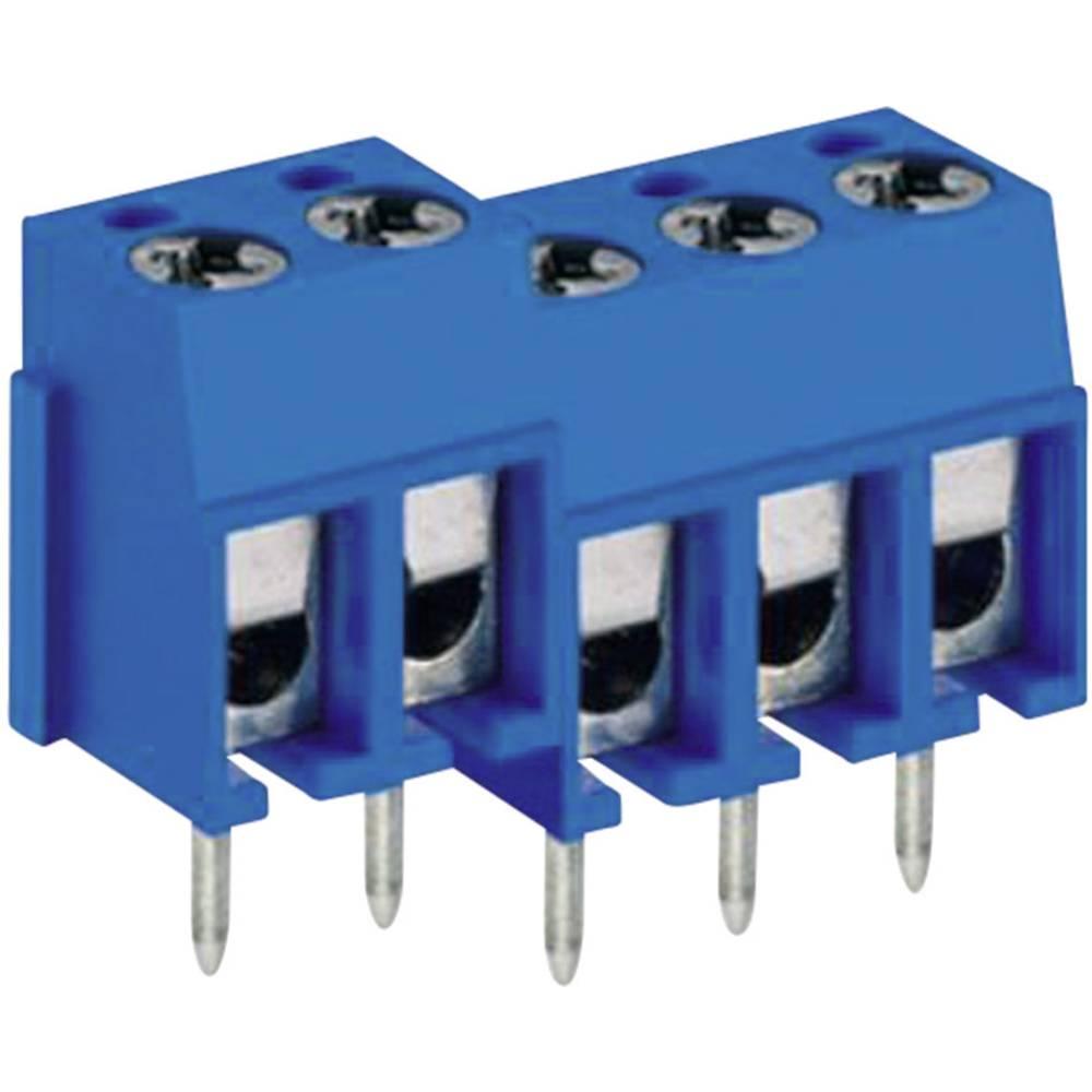 Skrueklemmeblok DECA MA522-500M02 2.50 mm² Poltal 2 Blå 1 stk