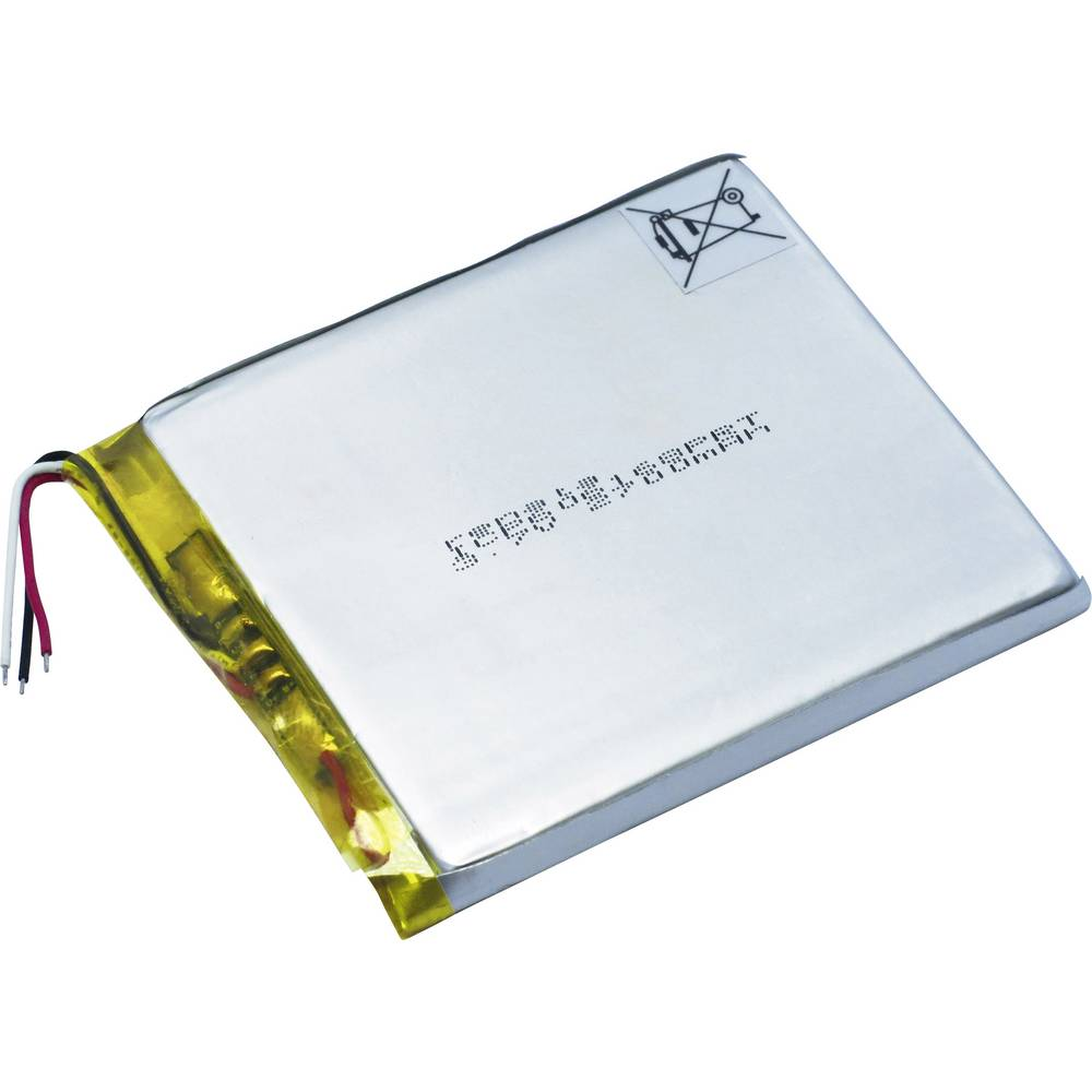 LiPo-akumulator Renata ICP606168PRT 3.7 V 2800 mAh (D x Š x V) 71 x 62 x 6.3 mm 100758