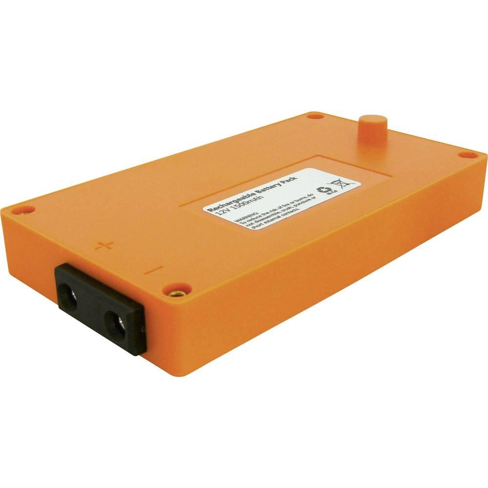 Akumulator za daljinski upravljalnik žerjava Beltrona nadomešča orig. akumulator Elca Großfunk 12 V 1500 mAh