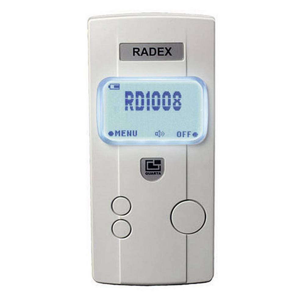 Merilnik sevanja Radex RD1008, Geigerjev števec, merilnik radioaktivnosti in dozimeter