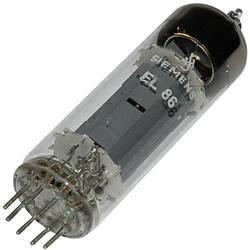 Cijevna elektronka EL 86 = 6 CW 5 krajnja pentoda 170 V 70 mA broj polova: 9 podnožje: Noval