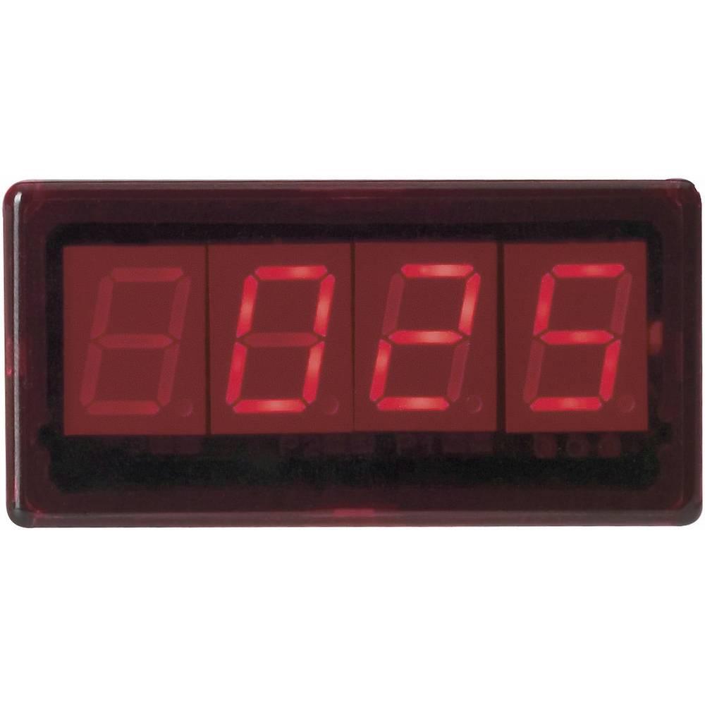 Greisinger GTH2448/1 LED- prikazovalnik GTH 2448/1 NiCr-Ni, tip K -50 do +1150 °C vgradne mere 45 x 22 mm