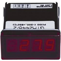 Greisinger GTH2448/3 LED- prikazovalnik GTH 2448/3Pt100, 2-žični, -60 do +199.9 °C vgradne mere 45 x 22 mm kalibrirano po ISO