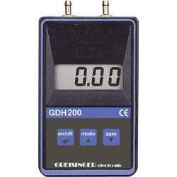 Merilnik tlaka Greisinger GDH 200-07 pritisk 0 - 0.1999 bar kalibracija narejena po ISO