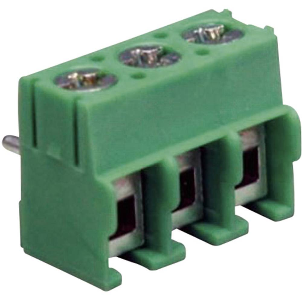 Skrueklemmeblok DECA MA114-500M02 Poltal 2 Grøn 1 stk