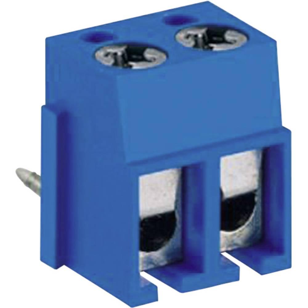 Skrueklemmeblok DECA MA524-500M02 2.50 mm² Poltal 2 Blå 1 stk