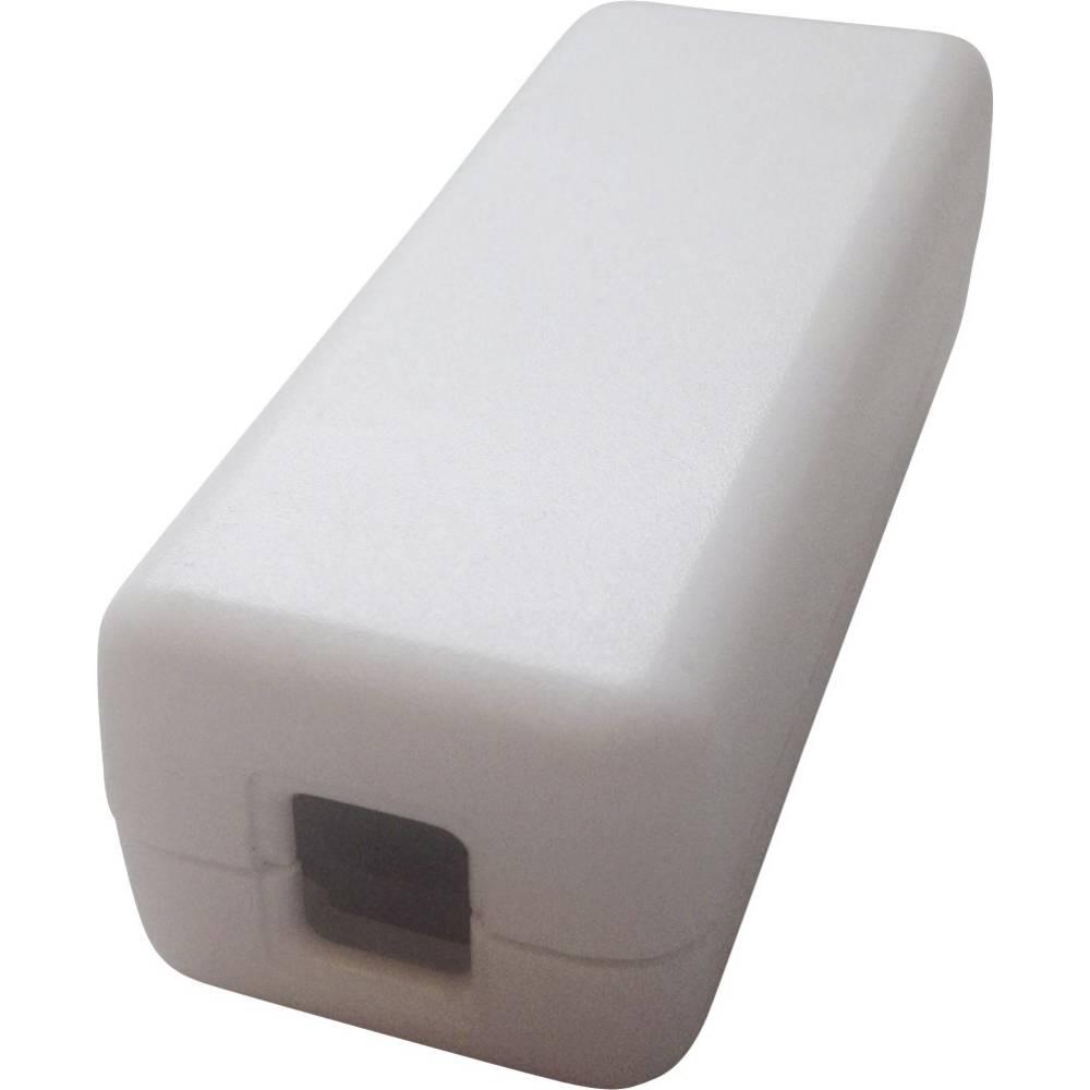Kabelsko ohišje 80 x 30 x 25 iz umetne mase bele barve interBär 8010-908.01 1 kos