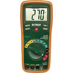 Ručni multimetar digitalni Extech EX470A kalibriran prema: DAkkS CAT III 600 V zaslon (brojevi): 4000