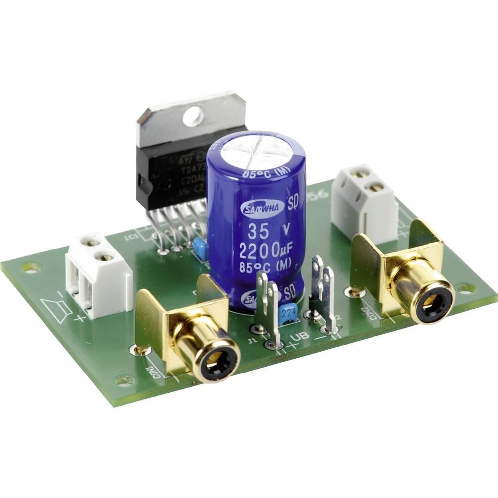 NF ojačevalnik Conrad 2 x 35 W, obratovalna napetost 8 - 18 V/DC, frekvenčno območje 20 Hz - 20 kHz, izhodna impedanca 2 - 4