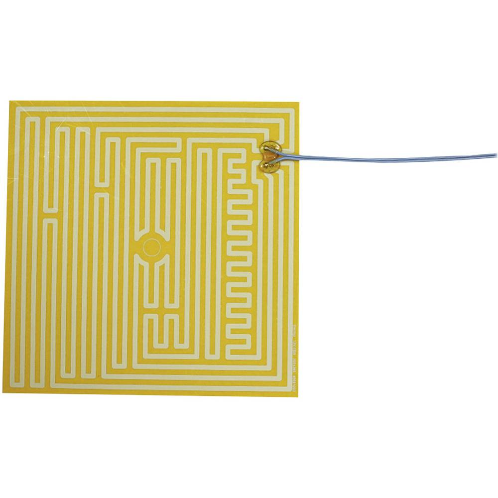 Polyester Varmefolie selvklæbende 12 V/DC, 12 V/AC 35 W Beskyttelsestype IPX4 (L x B) 260 mm x 260 mm Thermo