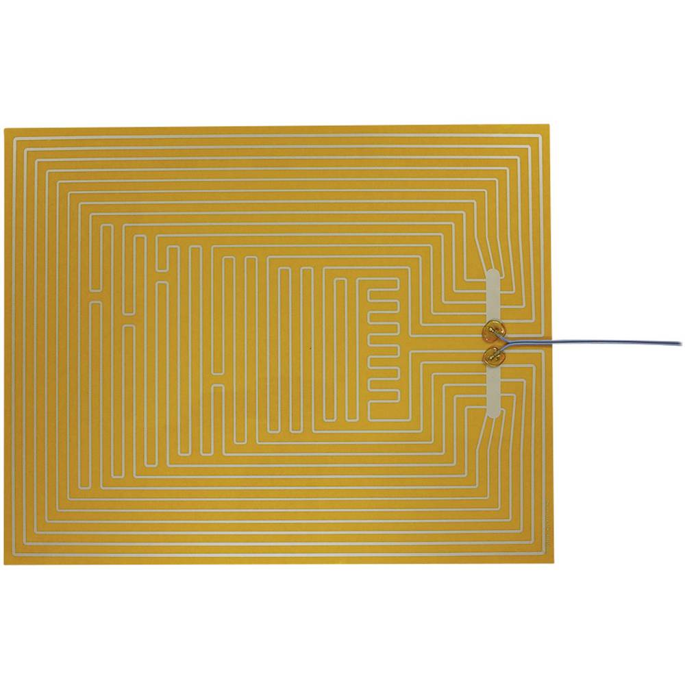 Polyester Varmefolie selvklæbende 12 V/DC, 12 V/AC 50 W Beskyttelsestype IPX4 (L x B) 500 mm x 400 mm Thermo