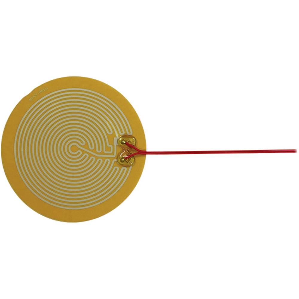 Polyester Varmefolie selvklæbende 12 V/DC, 12 V/AC 6 W Beskyttelsestype IPX4 (Ø) 140 mm Thermo