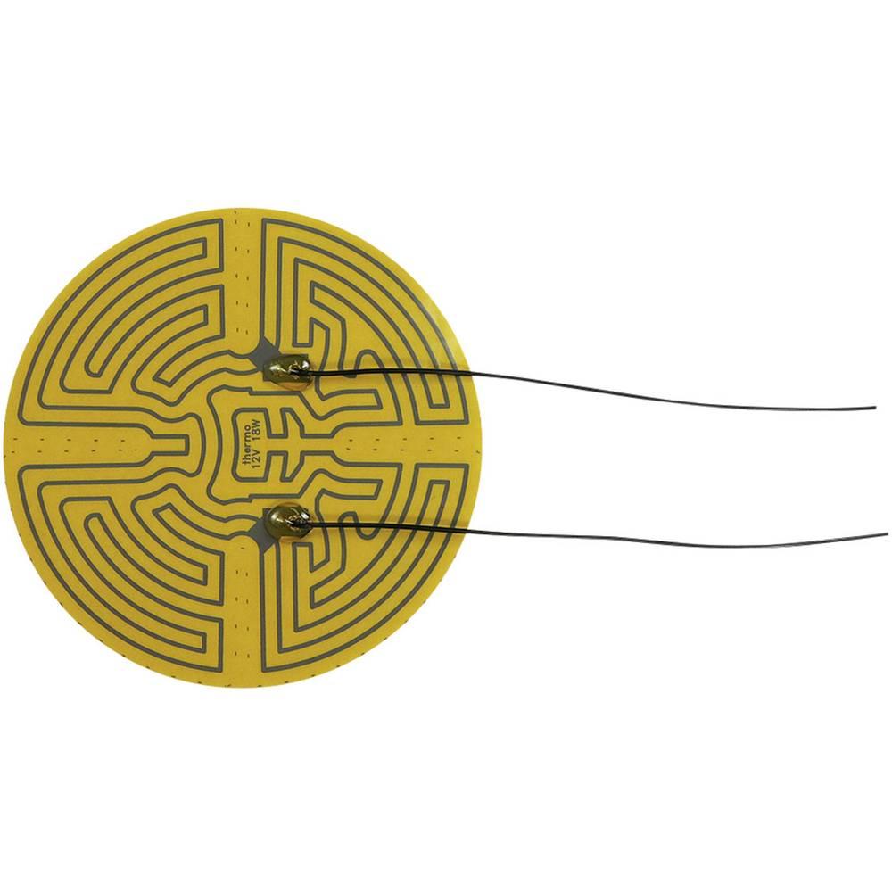 Samolepilna ogrevalna folija 12 V/DC, 12 V/AC 18 W vrsta zaščite IPX4 () 160 mm Thermo