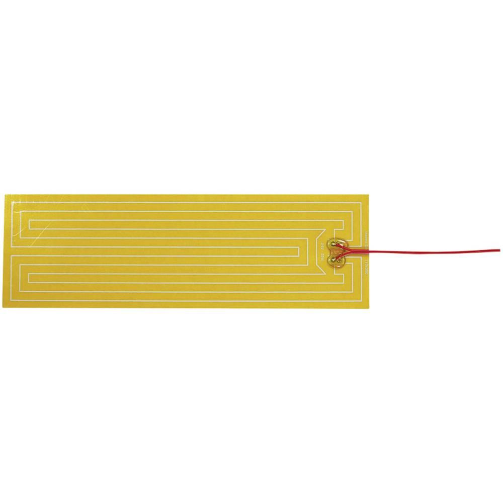 Polyester Varmefolie selvklæbende 24 V/DC, 24 V/AC 25 W Beskyttelsestype IPX4 (L x B) 350 mm x 110 mm Thermo